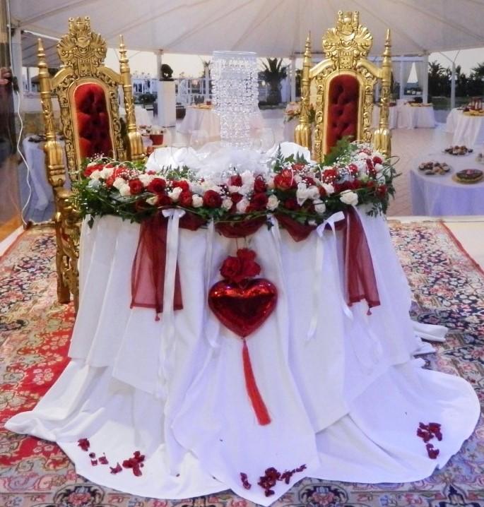 Tavolo Sposi Al Parco Ricevimenti Lecce